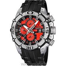 Quarz-(Batterie) Armbanduhren aus Kunststoff mit Chronograph für Herren