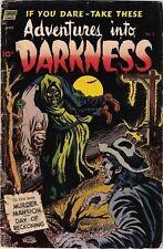 Darkness Golden Age Horror & Sci-Fi Comics
