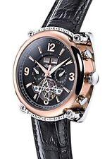 Polierte Mechanisch-(Automatisch) Armbanduhren aus Edelstahl mit Datumsanzeige