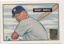 Topps Rookie Mickey Mantle Set Baseball Cards
