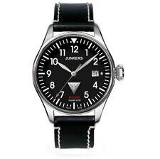 Junkers polierte mechanisch - (automatische) Armbanduhren mit Datumsanzeige