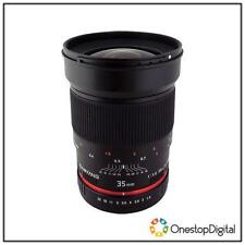 Manual Focus Wide Angle Camera Lenses for Sony
