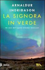 Letteratura e narrativa gialla e thriller verde