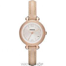 Elegante Armbanduhren mit Armband aus echtem Leder und Acrylglas