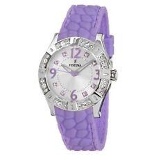 Runde polierte Armbanduhren mit arabischen Ziffern für Damen