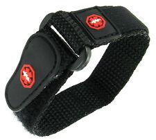 13-16mm Timex Medical lD Sport Wrap Nylon  Black Watch Band Strap TX111BKR