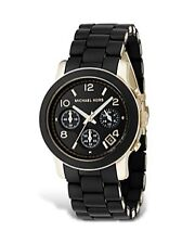 Michael Kors Resin Case Round Wristwatches
