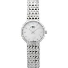 Silver Band Quartz (Battery) Adult Analogue Wristwatches
