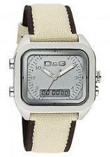 Quadratische Armbanduhren aus Textilgewebe für Damen