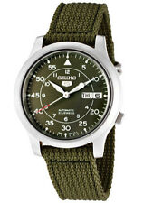 Fabric/Canvas Band Men's Stainless Steel Case Casual Watches