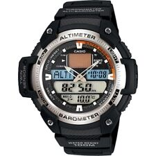 Resin Band Sport Wristwatches with Thermometer
