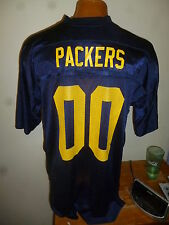 Reebok NFL Green Bay ACME Packers Blue  00 Mens Replica Football Jersey New  L 325fe1eb7