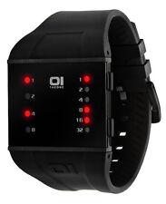 Rechteckige Armbanduhren aus Silikon/Gummi mit 30 m Wasserbeständigkeit (3 ATM)