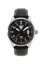 Mechanisch-(Automatisch) Armbanduhren mit Datumsanzeige und Gebürstet
