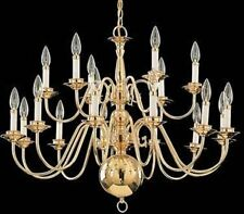 Brass chandeliers ebay traditional aloadofball Images