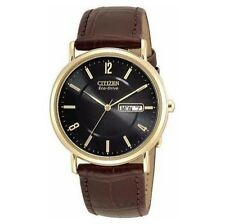 Men's Round Wristwatches with Date Indicator