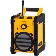 Tragbare Baustellenradios mit Digitalanzeige