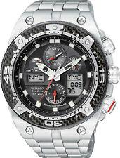 Runde Citizen Armbanduhren mit gebürstetem Uhrengehäuse