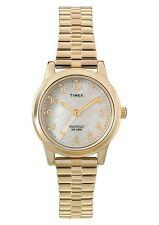 Timex 30 m (3 ATM) Armbanduhren aus Edelstahl für Damen