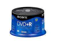 Sony 4.7GB Blank Computer DVD - Rs Discs