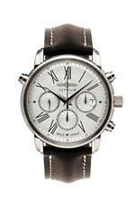 Runde mechanisch - (automatische) Armbanduhren mit 12-Stunden-Zifferblatt