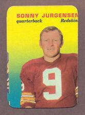 Topps Washington Redskins Football Trading Cards