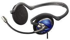 Geschlossene/ohraufliegende kabelgebundene Computer-Headsets mit Nackenbügel