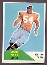 Rookie Topps Original Vintage (Pre-1970) Football Cards