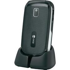Téléphones mobiles Bluetooth noirs Doro