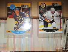 Boston Bruins Hockey Trading Cards