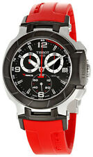 Stainless Steel Case Men's Tissot T-Race Adult Wristwatches