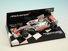 Voitures Formule 1 miniatures sous boîte fermée pour mclaren