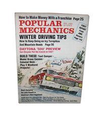 Popular Mechanics Science & Technology Magazine Back Issues