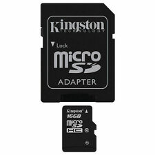 MicroSDHC 16GB Camera Memory Cards for Samsung