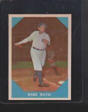 Fleer Babe Ruth New York Yankees Original Baseball Cards