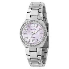 Polierte Armbanduhren mit Datumsanzeige für Damen