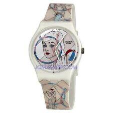 Swatch Armbanduhren aus Kunststoff für Damen