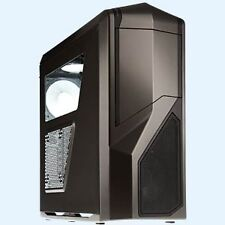 Boîtiers d'ordinateurs gris sans bloc d'alimentation