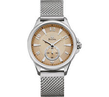 Bulova Stainless Steel Case Dress/Formal Wristwatches