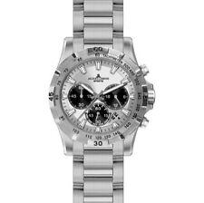 Jacques Lemans Armbanduhren aus Edelstahl mit Chronograph