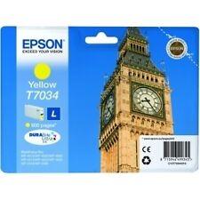 Gelbe kompatible Epson Drucker-Tintenpatronen Ablaufdatum (MM/JJJJ) 01/2015