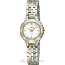 Erwachsene Seiko Armbanduhren aus Edelstahl für Damen