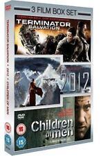 Christian Bale DVDs Terminator Salvation Blu-ray Discs