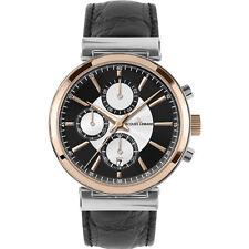 Polierte Armbanduhren mit Armband aus echtem Leder für Erwachsene