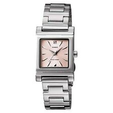Casio Stainless Steel Case Women's Adult Wristwatches