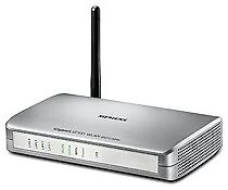 Max. kabellose Datenübertragungsrate 108 Mbps Netzwerkanschluss Drahtlos-Wi-Fi 802.11g Modem-Router-Kombinationen