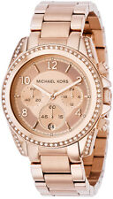 Michael Kors Stainless Steel Band Women's Adult Wristwatches