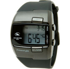 Freestyle Men's Stainless Steel Case Digital Wristwatches