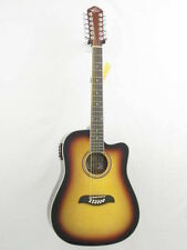 Dreadnought Right-Handed 12 String Acoustic Electric Guitars