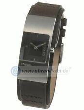 Nicht wasserbeständige quadratische Armbanduhren mit Edelstahl-Armband